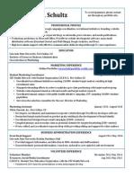 schultz kacey creative marketing resume portfolio site