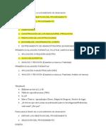 Fases Para El Diseño de Un Procedimiento de Observación