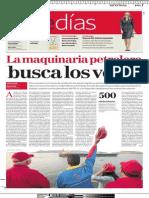 La Maquinaria Roja busca los votos (1)
