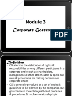 Module-3 Corporate Governance