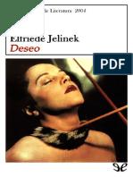 Deseo de Elfriede Jelinek r1.0