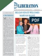 Iran Liberation - Belgian Senate welcomes Maryam Rajavi