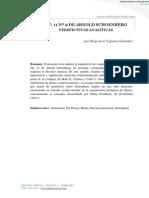 Vigueras González, D. Schonberg op. 11 n° 2. Perpectivas analíticas