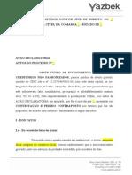 1 Modelo Contestação - Jec e Proc Sum (m) - Fundo Oeste