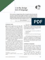 Biolinguistics- Three Factors offprint