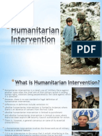 Humanitarian Intervention (1)