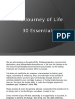 30 Essentials for the Journey of Life