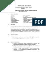Proyecto Juegos Florales 2014
