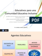 Agentes Educativos Para Una Comunidad Educativa Inclusiva (1)