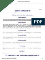 Infile - Decreto Del Congreso 97-96