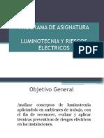 01 a Programa Luminotecnia