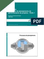 CGP M03 - Processos de Planejamento Do Gerenciamento de Projetos - Parte 1