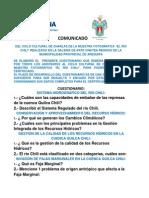 Cuestionario Ciclo Cultural Del Río Chili