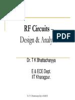 RF Circuits– Design & Analysis