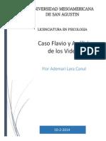 Psicología Clínica Caso Flavio y Videos