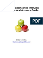 Electrical Engineering Job Interview Preparation Guide