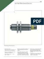 Braun Differential Hall Effect Based Sensor