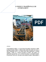 Pilatess Tehnica Traditionala de Antrenament (2)