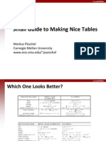 Guide Tables