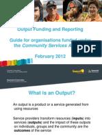 Ngo Output Funding