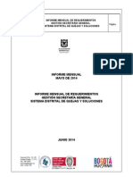 Informe Secretaria General Mayo 2014