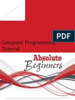 Computer Programming Tutorial