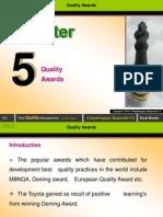 Ch-5 (Quality Awards)