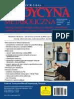 Medycyna Metaboliczna - 2014, tom XVIII, nr 2
