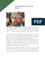 18-06-14 news Nombran a Francisca Ramírez como jefa de jurisdicción sanitaria