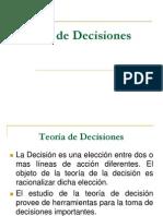 Diapositivas Teoria de Decisiones
