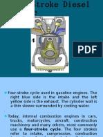 Four-Stroke Diesel Engine