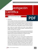 Manual 3 - La Investigacion Cientifica
