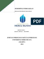 Kepemimpinan Dalam Perusahaan Makalah Pio