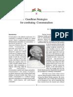 Mahatma Gandhi's Secularism