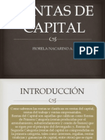 Rentas de Capital Derecho