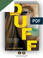 The Duff by Kody Keplinger (Excerpt)