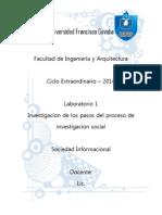 Metodo Cientifico de Investigacion Social