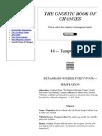 James DeKorne's Official...f Changes - Hexagram 44