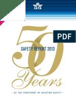 Iata Safety Report 2013