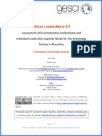 African Leadership in ICT