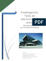 Investigacion_tipos de Estructuras de Acero