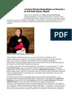Mons Dal Covolo, Lectura Patrum Neapolitana su Povertà e Ricchezza