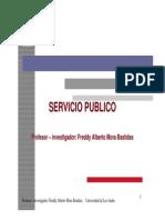 Servicios Publicos - Fundamentos