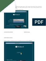 Manual Instalación Windows 8