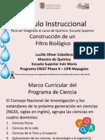 Modulo instruccional; Construccion de Biofiltro