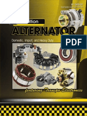 Eng Code Alternator-DIESEL CR Remy 14410 Reman