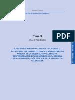 03_La Ley de Gobierno Valenciano
