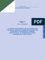 01_La Constitución Española de 1978