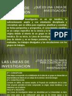 Las Lineas de Investigacion