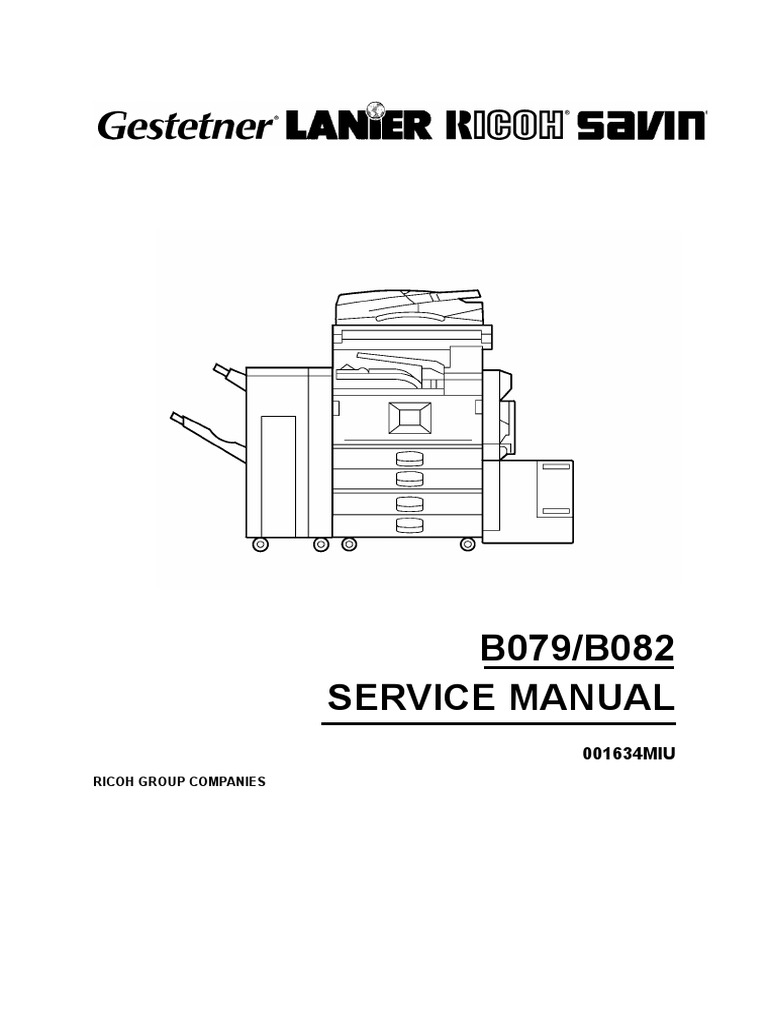 ricoh af service manual